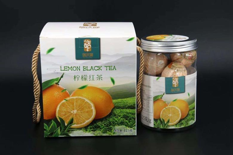 柠檬红茶礼盒125g